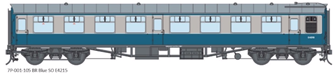 BR Blue/Grey SO MK1 Coach (Unnumbered)
